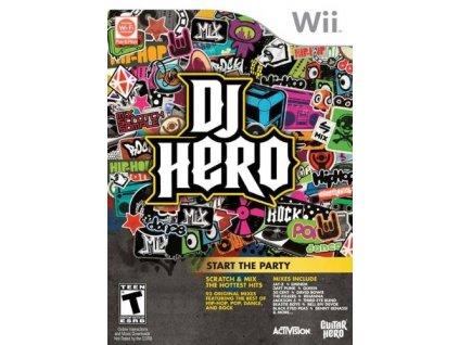 Wii DJ Hero + Turnable Kit