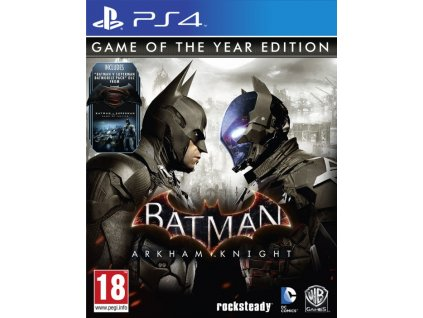 PS4 Batman Arkham Knight GOTY