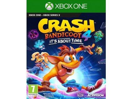 XONE-XSX Crash Bandicoot 4 Its About Time
