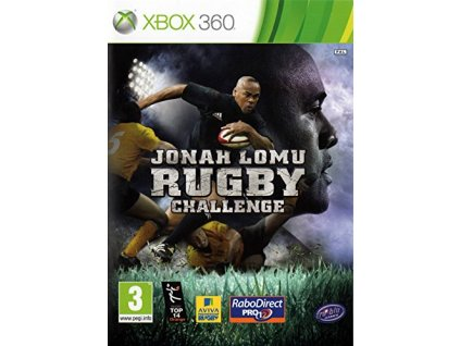 X360 Jonah Lomu Rugby Challenge