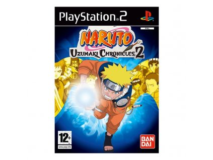 PS2 Naruto Uzumaki Chronicles 2