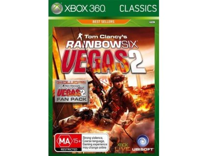 X360 Tom Clancys Rainbow Six Vegas 2 Complete Edition