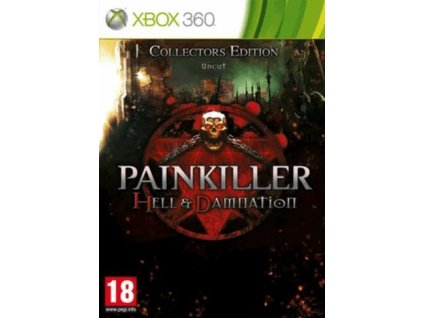 X360 Painkiller Hell and Damnation Collectors Edition