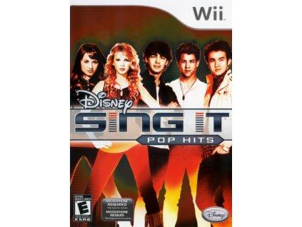 Wii Disney Sing It Pop Hits