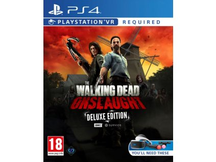 PS4 The Walking Dead Onslaught Deluxe Edition VR