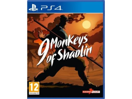 PS4 9 Monkeys of Shaolin