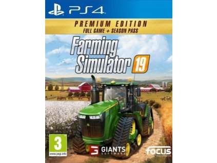 PS4 Farming Simulator 19 Premium Edition CZ