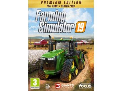 PC Farming Simulator 19 Premium Edition CZ
