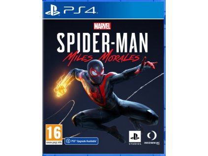 PS4 Marvel Spider-Man Miles Morales CZ