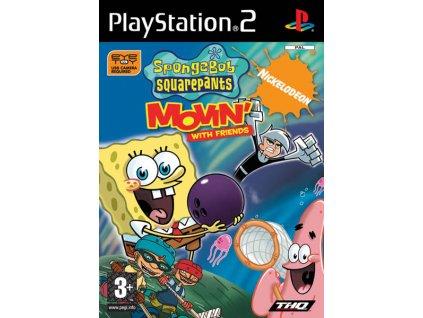 PS2 Spongebob Squarepants Movin with Friends