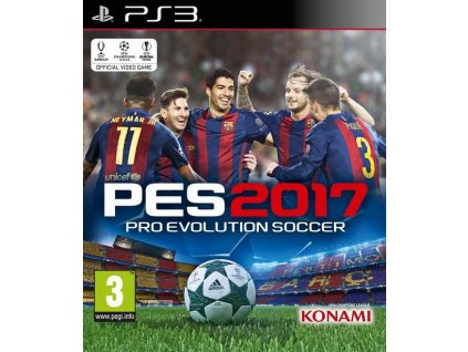 PS3 Pro Evolution Soccer 2017