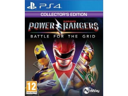 PS4 Power Rangers Battle For The Grid Collectors Edition