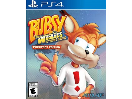 PS4 Bubsy The Woolies Strike Back Purrfect Edition