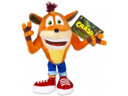 Figurka plyšová Crash Bandicoot 22 cm