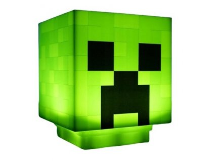 Lampička Minecraft Creeper