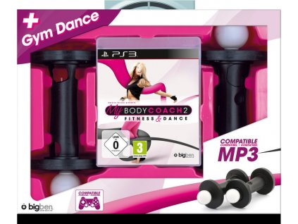 PS3 My Body Coach 2 Fitness Dance + 2x čínka