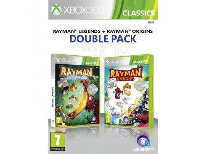 X360 Rayman Legends + Rayman Origins