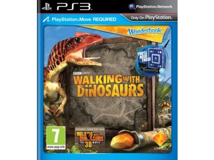 PS3 Wonderbook Walking with Dinosaurs CZ