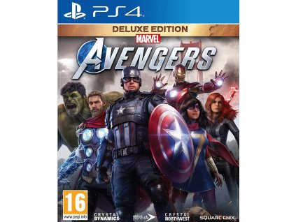 PS4 Marvel Avengers Deluxe Edition