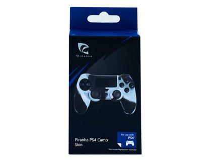 PS4 Piranha silikonový obal Camo