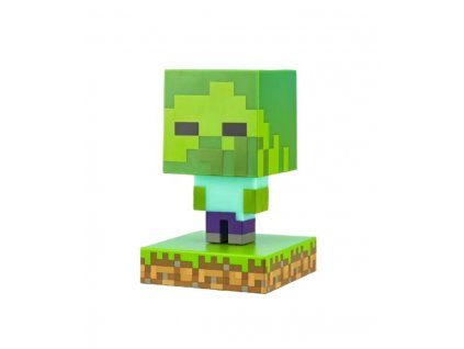 Lampička Minecraft Zombie Icon Light