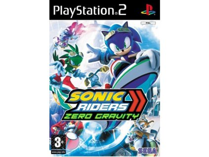 PS2 Sonic Riders Zero Gravity