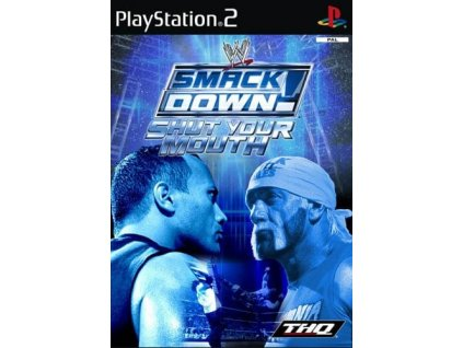 PS2 WWE SmackDown Shut Your Mouth