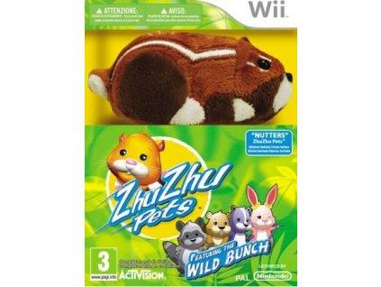 Wii Zhu Zhu Pets Kung Zhu coll with toy