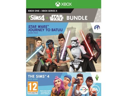 XONE XSX The Sims 4 + Star Wars Journey to Batuu