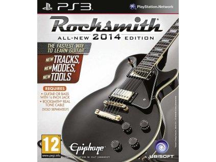 PS3 Rocksmith 2014