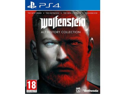 PS4 WOLFENSTEIN ALT HISTORY COLLECTION Nové