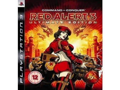 PS3 Command and Conquer Red Alert 3 Ultimate Edition