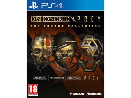 PS4 Dishonored and Prey The Arkane Collection