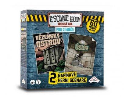 Společenská hra ESCAPE ROOM pro 2 hráče CZ