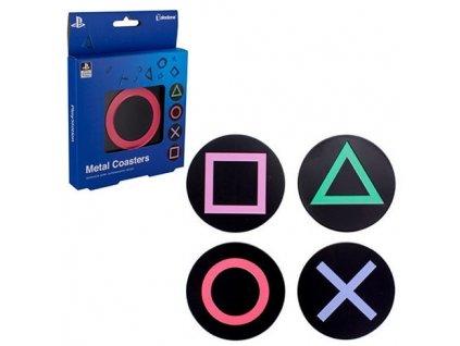 Podtácky Playstation Metal Coasters