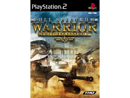 PS2 Full Spectrum Warrior Ten Hammers