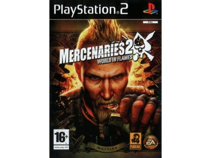 PS2 Mercenaries 2 World in Flames