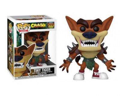 Funko POP! 533 Crash Bandicoot Tiny Tiger