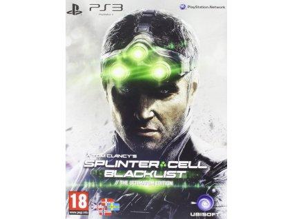 PS3 Tom Clancys Splinter Cell Blacklist Ultimatum Edition