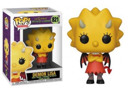 Funko POP! 821 Animation Simpsons S3 Demon Lisa