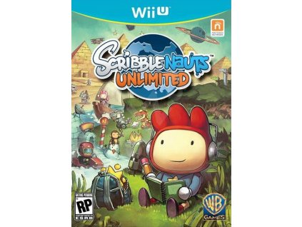 WiiU Scribblenauts Unlimited