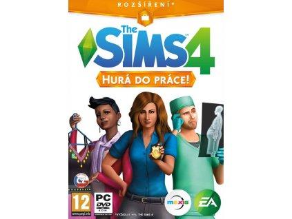PC The Sims 4 Hurá do práce Rozšíření CZ
