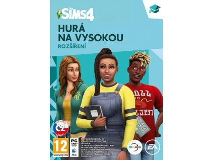 PC The Sims 4 Hurá na vysokou Rozšíření CZ