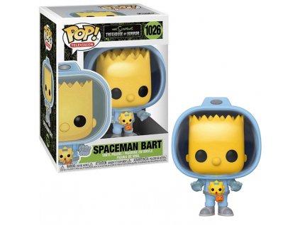 Merch Funko POP! 1026 Simpson Spaceman Bart