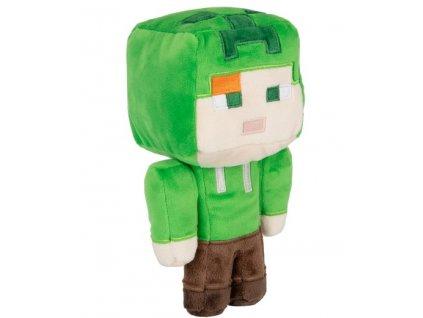 Merch Plyšová hračka Minecraft Happy Explorer Alex in Creeper costume 18 cm