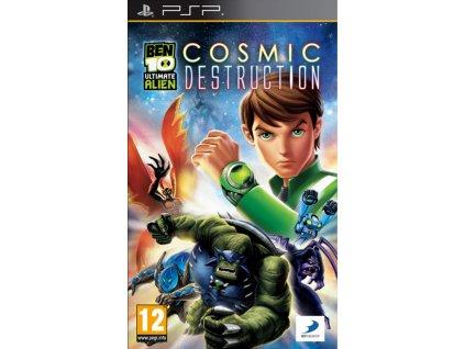 PSP Ben 10 Ultimate Alien Cosmic Destruction