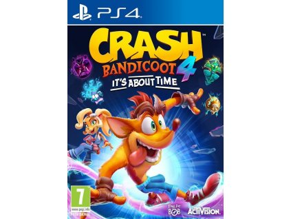 PS4 Crash Bandicoot 4 Its About Time