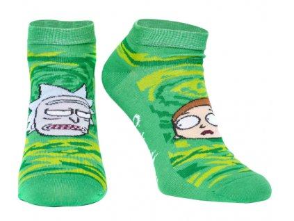 Merch Ponožky RICK AND MORTY ANKLE