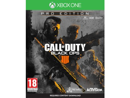XONE Call of Duty Black Ops 4 Pro Edition