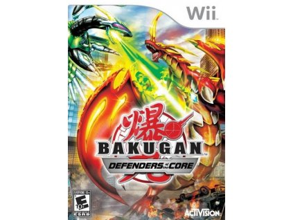 Wii Bakugan Defenders of the Core